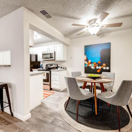 Spacious Dining Room | Apartments In Littleton | Terra Vista at the Park
