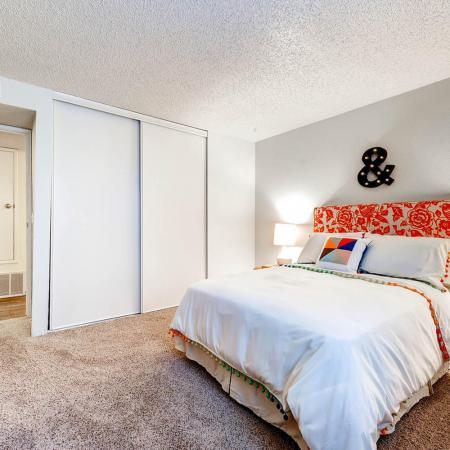 Elegant Bedroom | Apartments In Littleton Colorado | Terra Vista at the Park