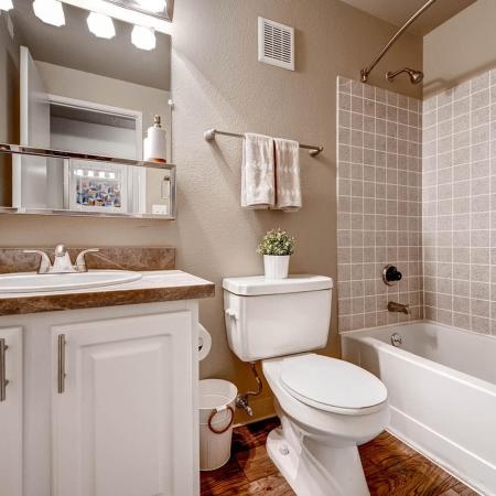 Spacious Bathroom | Apartments In Littleton Colorado | Terra Vista at the Park