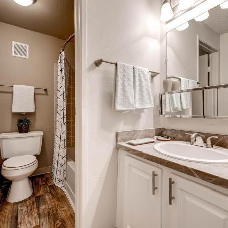 Elegant Bathroom | Apartments In Littleton CO | Terra Vista at the Park