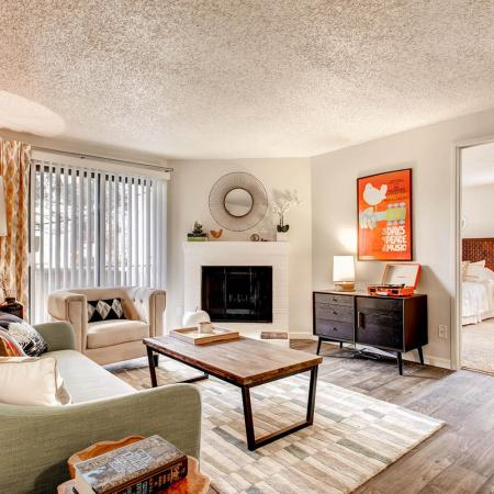 Luxurious Living Area | Apartments In Littleton | Terra Vista at the Park