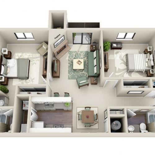Floor Plan 3 | Terra Vista at the Park