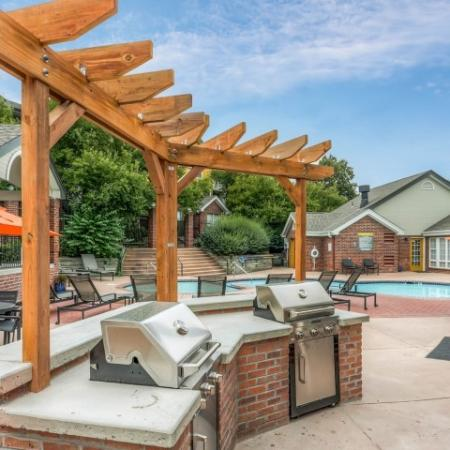 Community BBQ Grills | Apartments In Northglenn Colorado | Keystone Apartments