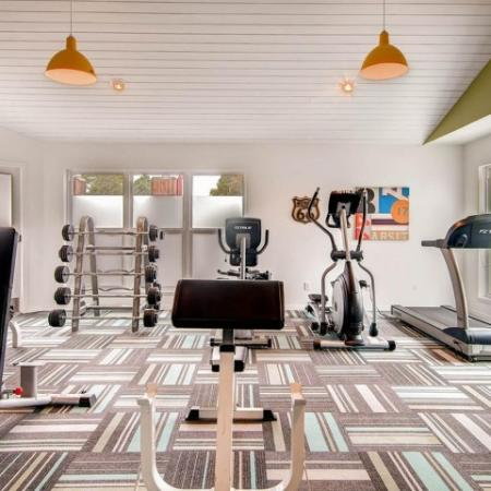 Cutting Edge Fitness Center | Apartments In Northglenn CO For Rent | Keystone Apartments