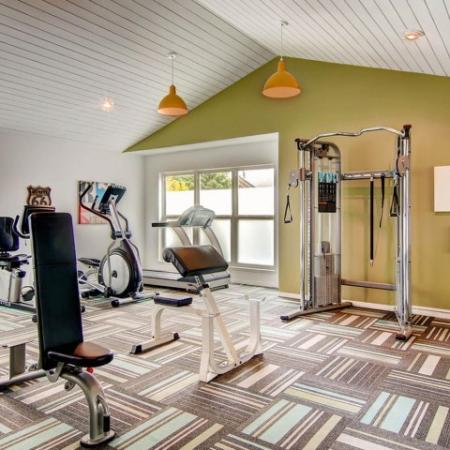 Resident Fitness Center | Apartments Near Denver Colorado | Keystone Apartments