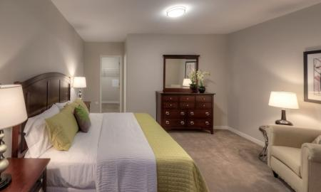 Spacious Master Bedroom | Lombard Illinois Apartments | Apex 41