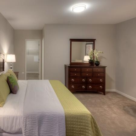 Spacious Master Bedroom | Lombard Illinois Apartments | Apex 41