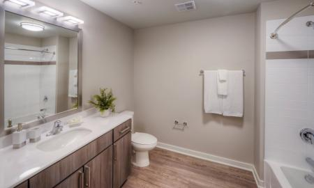 Luxurious Master Bathroom | Apartments in Lombard | Apex 41