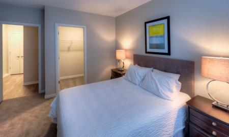 Luxurious Bedroom | Apartments in Lombard | Apex 41