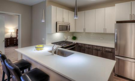 Spacious Kitchen Island | Lombard Apartments | Apex 41