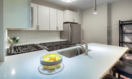 Large Kitchen Island | Lombard Apartments | Apex 41