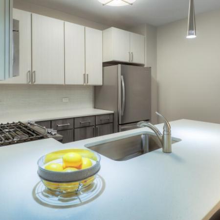 Large Kitchen Island | Lombard Apartments | Apex 41