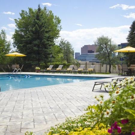 Sparkling Pool | One Bedroom Apartments Denver | Summitt Ridge