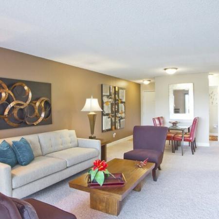 Spacious Living Area | Luxury Apartments In Denver Colorado | Summitt Ridge
