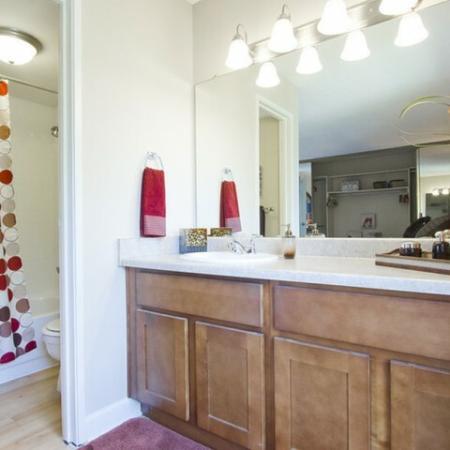 Luxurious Bathroom | One Bedroom Apartments Denver | Summitt Ridge