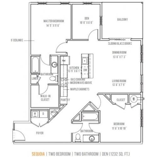 Floor Plan 11 | Lofts at Valley Forge