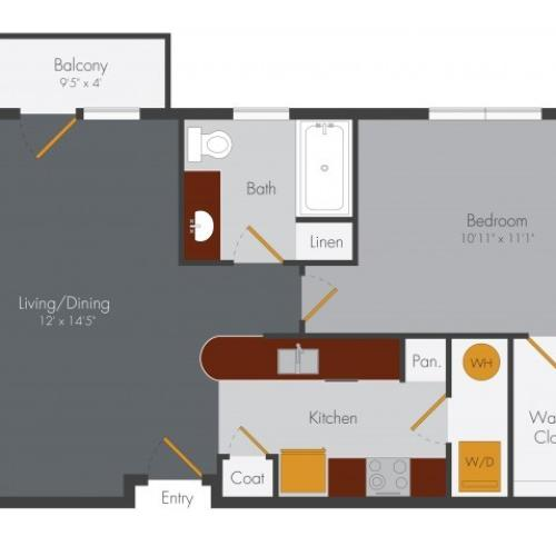 One Bedroom | Pencil Factory Flats
