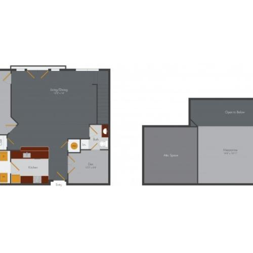 Two Bedroom 11 | Pencil Factory Flats
