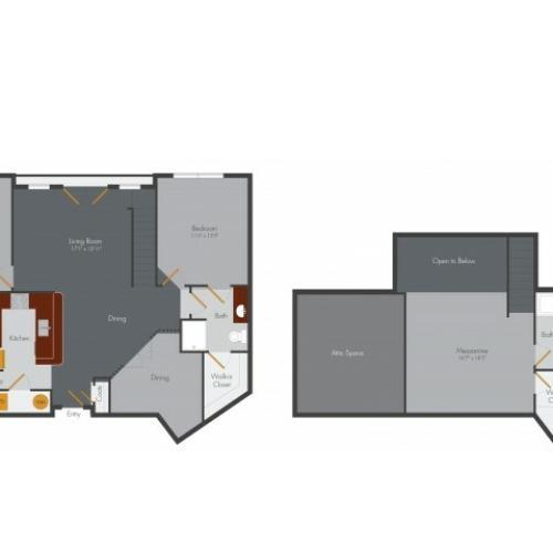 Three Bedroom 4 | Pencil Factory Flats