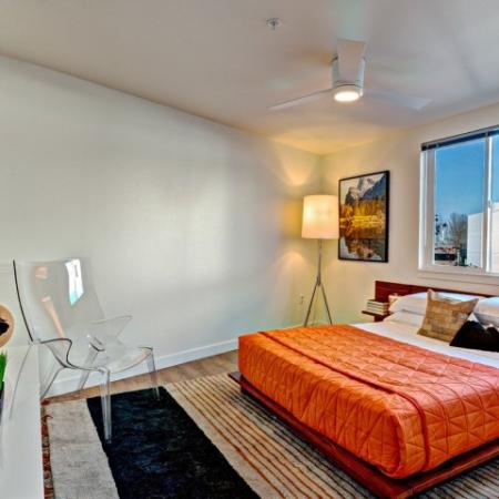 Spacious Bedroom | 2 Bedroom Apartment Seattle | East Howe Steps