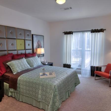 Spacious Bedroom | Luxury Apartments In Atlanta | Pencil Factory Flats
