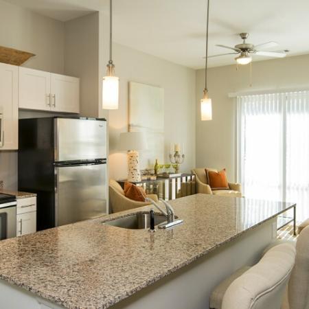 Modern Kitchen | Apartments Mount Pleasant SC | Riviera at Seaside