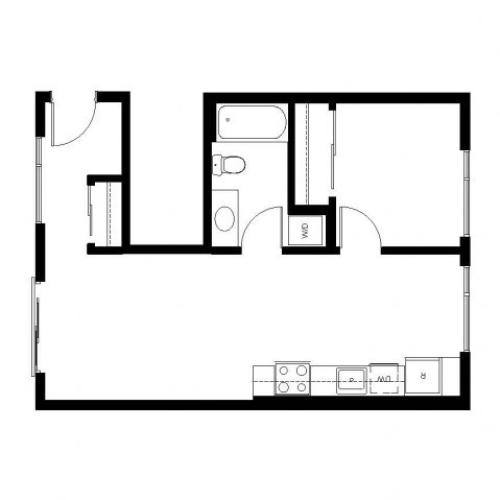 Floor Plan 22 | East Howe Steps