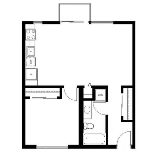 Floor Plan 25 | East Howe Steps