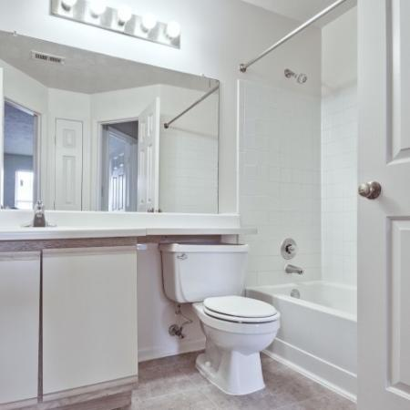 Spacious Bathroom | Apartment In Indianapolis Indiana | Island Club
