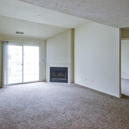 Spacious Living Room | Apartments Indianapolis | Island Club