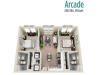 Arcade | 2 bed 2 bath | from 768 square feet