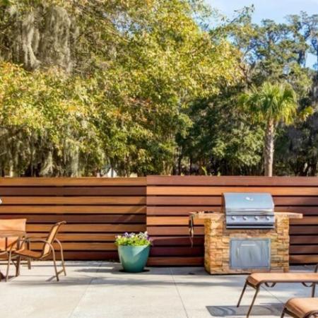 Community BBQ Grills | Apartments Mount Pleasant SC | Riviera at Seaside