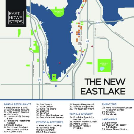 Apartments In Seattle | East Howe Steps 1