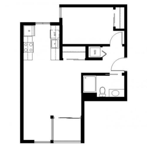 Floor Plan | East Howe Steps