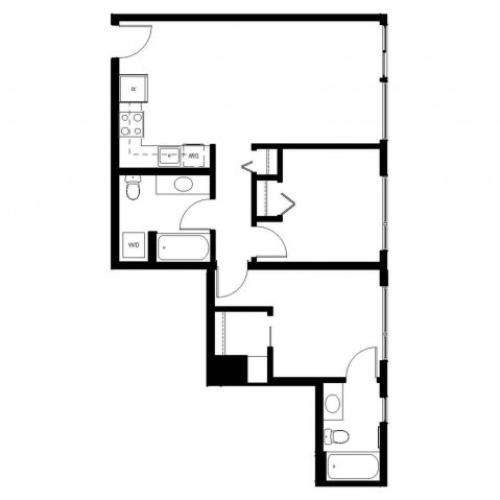 Floor Plan 26 | East Howe Steps