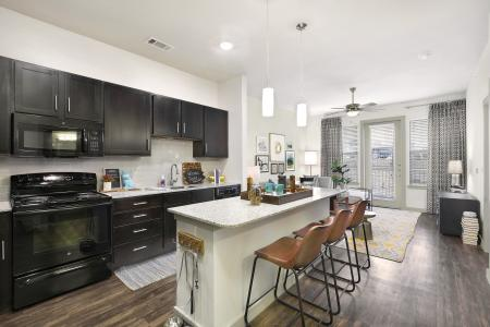 State-of-the-Art Kitchen | Apartment Temple TX | Villas on the Hill