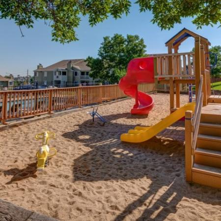 Community Children's Playground | Apartment For Rent Morrison Colorado | Vista at Trappers Glen