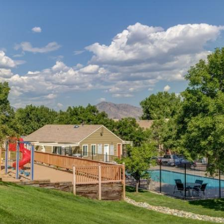 Sparkling Pool | Apartments In Morrison CO | Vista at Trappers Glen