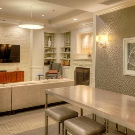Elegant Community Club House | Apartments Near Northwestern University School Of Law | The Seneca