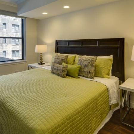 Spacious Bedroom | Apartments In Chicago IL | The Seneca