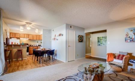 Luxurious Living Room | Tempe Luxury Apartments | 505 West