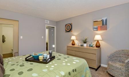 Elegant Bedroom | Tempe Apartments | 505 West