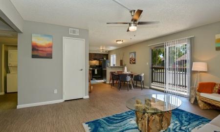 Elegant Living Room | One Bedroom Apartments In Tempe | 505 West