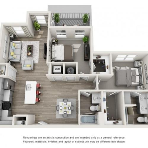 Floor Plan 6 | Residences at Proximity