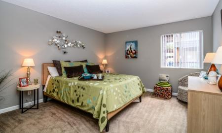 Spacious Bedroom | Luxury Apartments In Tempe | 505 West