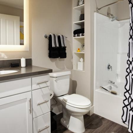 Elegant Bathroom | Santa Monica Luxury Apartments | AO Santa Monica