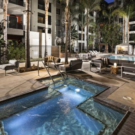 Resort Style Pool | Santa Monica Luxury Apartments | AO Santa Monica 3