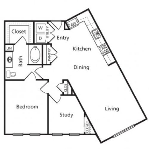 Floor Plan 16 | Voyager at Space Center