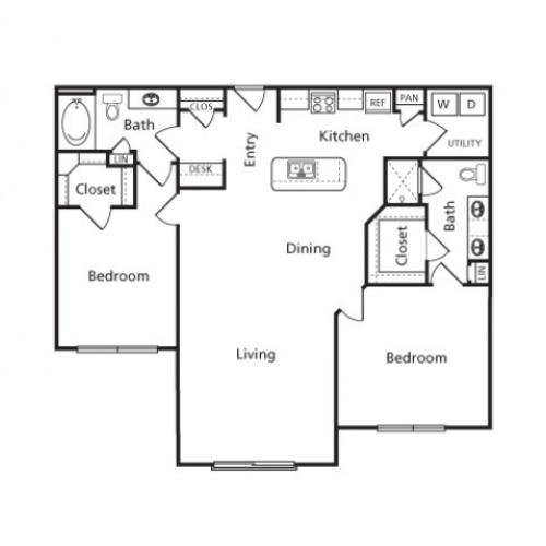Floor Plan 19 | Voyager at Space Center
