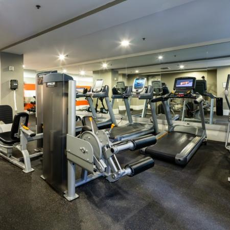 24-hour Fitness Center | Luxury Apartments Santa Monica | AO Santa Monica